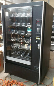 Automatic Products Studio 3 Snack Food Vending Machine W Golden Eye Works
