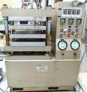 24 X 24 Electric Platen 4 Post Press Phi 30 Ton Hydraulic Molding
