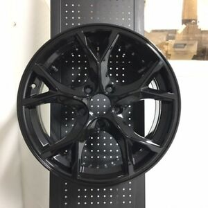 17 Type R Style Gloss Black Rims Wheels Fits Honda Civic Si New