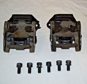 69 82 Motor Mounts With Bolts New Kit Corvette 350 Or 427 Engines Kit