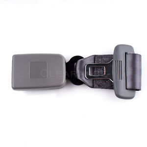 9 Gray Car Seat Seatbelt Safety Belt Extender Extension 7 8 Buckle
