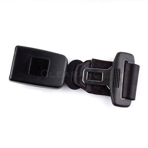 Black 9 Car Seat Seatbelt Adjustable Safety Belt Extender Extension 7 8 Buckle