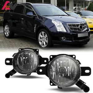 For Cadillac Srx 10 15 Clear Lens Pair Bumper Fog Light Lamp Oe Replacement Dot