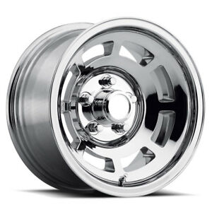 4 15 X 8 Chrome Wheels Pace Car Style Set Fits 1968 1982 Corvette Yj8 C3