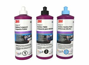 3m Perfect it 16oz Buffing Polishing Compound