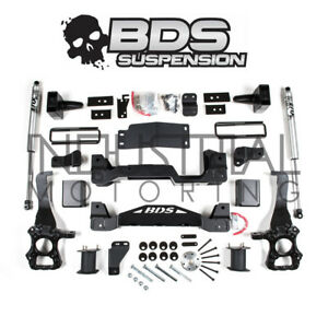 Bds Suspension 2017 2019 Ford F 150 4wd 6 Inch Lift Kit Rear Fox Shocks 1532h