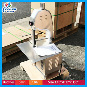 Meat Bone Saw Hls 1650 Butcher Deli Band Saw Food Processing Commercial Nsf New