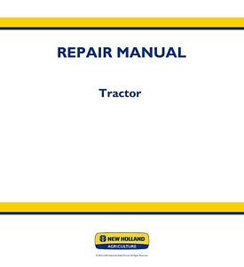 New Holland T2310 t2320 t2330 Tractor Service Repair Manual