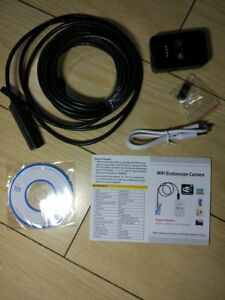 8mm Wireless Universal Wifi Endoscope Camera 2m 5m Cable 6led Adjustable Lo