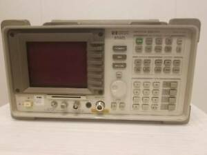 Hp Spectrum Analyzer 8592l With Option 003 And 024