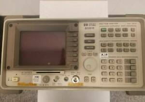 Hp Spectrum Analyzer 8591e With Options 004 041 101 And 105