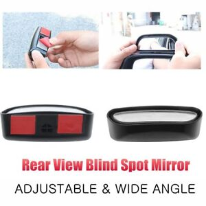 Accessories Rear View Blind Spot Mirror Adjustable Wide Angle Assist Part
