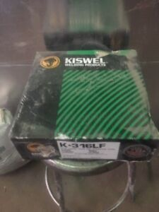 Kiswel K 316lf 10lb 045 In Flux Core Stainless Steel Mig Wire Free Shipping