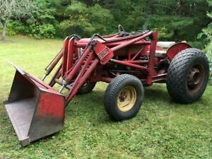 1958 International 330 Utility Tractor With Lord Bucket Loader