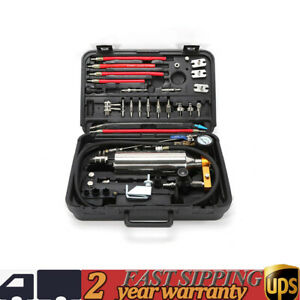Gx100 Non Dismantle Fuel Injector Cleaner Adapter Tester Fuel System Tool Kit
