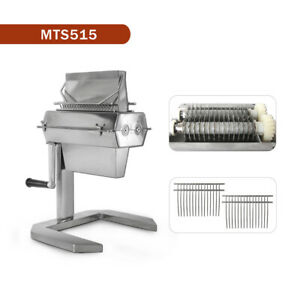 Manual Commercial 5 Meat Tenderizer 15 2 Knife Stainless Steel Blade Heavy Duty