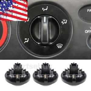 3pcs New For Toyota Tundra 2000 2006 Heater A C Climate Control Knob 55905 0c010