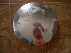 Rusty Baby Moon Vintage Hubcap As Is Used Abused Rat Rod Unmarked