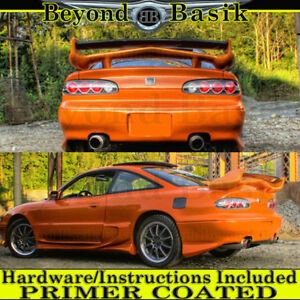 1993 1994 1995 Mazda Rx 7 Vs Invader 1 Style Spoiler Trunk Wing Primer Coated