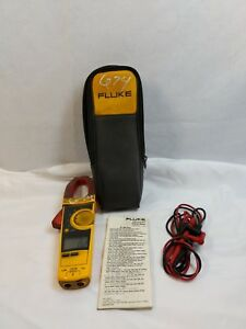 Fluke 336 True Rms Clamp Meter W Case Recently Calibrated