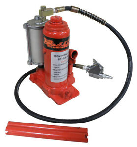 Redline 5 Ton Air Hydraulic Lift Stand Bottle Jack