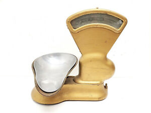 Antique Toledo Candy Scale 3 Lbs Country Store Parts Or Repair
