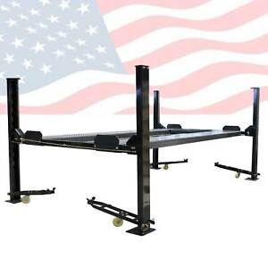 Xk Pp 8s 8000 Lb 4 Post Heavy Duty Portable Storage Car Lift Auto Hoist