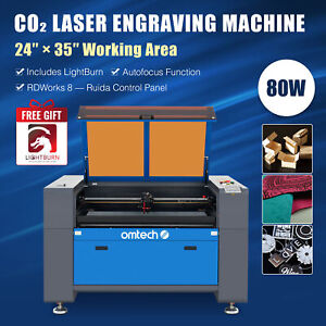 20x28 80w Co2 Laser Engraver Cutter Engraving Cutting Machine Ruida Dsp Red Dot