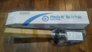 Sharps Pitch it Sr Iv Pole Model 30006 Portable New In Original Packaging