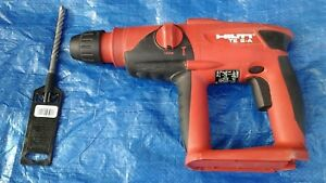 Hilti Te 2 a 24v Hammer Drill And 1 Bosch Bit
