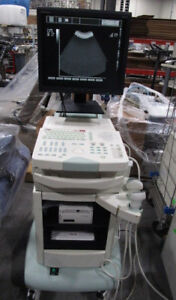Esaote Caris Plus Ultrasound System With Convex Ca421 And Linear La523 Probe