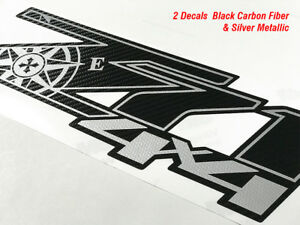 Chevy Silverado Z71 4x4 Decals Stickers Truck Decal Carbon Fiber 3m Expedition B