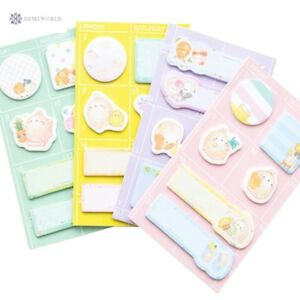 30packs lot Kawaii Animals Rabbit Sticky Memo Pad N Times Sticky Notes Self adh