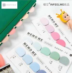 30pcs lot The Colour Life Notepad Sticky Memos Lovely Mini Memo Pad For Children