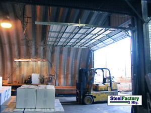 Steel Factory S45x50x17 Metal Storage Building Shipped Factory Direct Prefab Kit