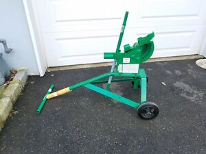 New Greenlee 1800 Mechanical Bender For 1 2 3 4 And 1 inch