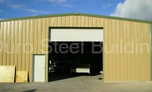 Durobeam Steel 30x60x15 Metal Prefab Garage Building Kit as Seen On Tv Direct