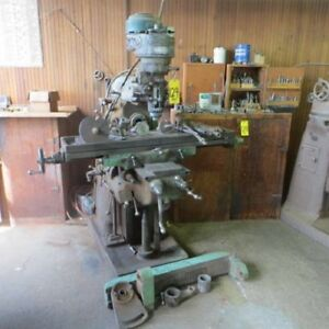 Cincinnati 2 Mh Horizontal Mill W Bridgeport J Head