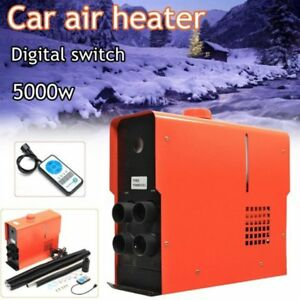5000w 12v 4 holes Air Diesel Heater 5kw Heating For Truck Motor homes Boat Bus Q
