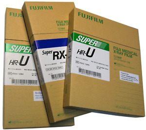 Fuji 8x10 Blue Dental X ray Film 100 Sheets Per Box 400 Speed Rx Rx n