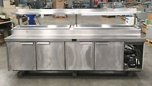 Infra Commercial Chiller Refrigerated Prep Table 112 l X 34 w X 57 h