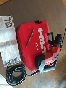 Hilti Te 5 Rotary Power Corded Hammer Drill Kit