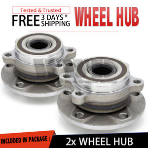 2x 513253 Front Wheel Hub Bearing Assembly For 2006 14 Vw Gti 2 0t Hatchback Tdi