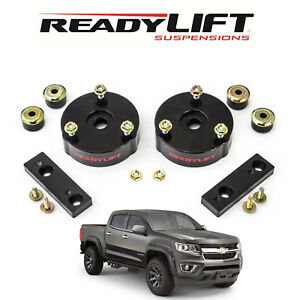 Readylift T6 Billet 2 Front Leveling Kit For 2015 2019 Chevy Colorado T6 3072 K