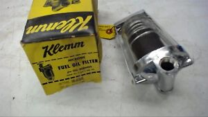 Klemm Ff 430g Fuel Oil Filter Gall Bowl 3 8