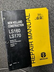 New Holland Ls160 Ls170 Skid Steer Repair service Manuals