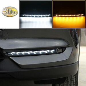 Led Daytime Running Lights For Mazda Cx 5 Cx5 2017 2018 Drl Bumper Lamp