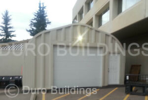 Durospan Steel G25x30x13 Metal Prefab Residential Garage Building Factory Direct