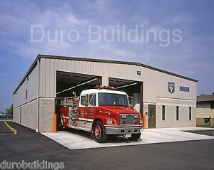 Durobeam Steel 40x100x16 Metal Building Police Fire Emergency Structure Direct