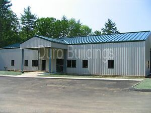 Durobeam Steel 50x84x12 Metal Garage Office Building I beam Structures Direct
